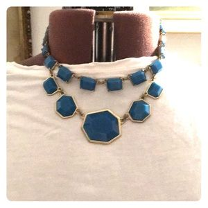 Kate Spade Blue Stone Necklace